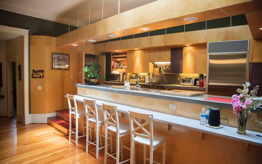 Bar in Kitchen